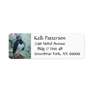 Harpy Eagle Return Address Label