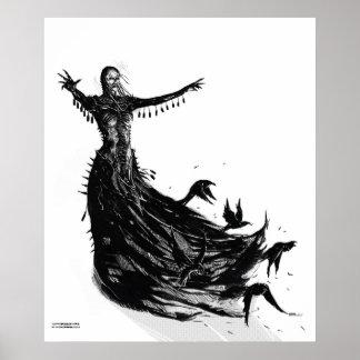 Harpy Queen Print