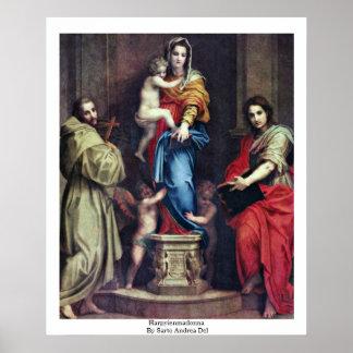 Harpyienmadonna de Sarto Andrea Del Posters