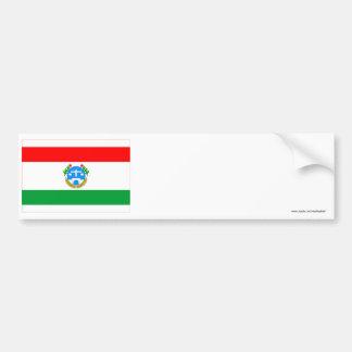 Harrari Flag Bumper Sticker