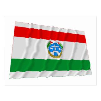 Harrari Waving Flag Postcard