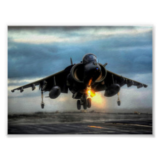 HARRIER AIRCRAFT POSTERS