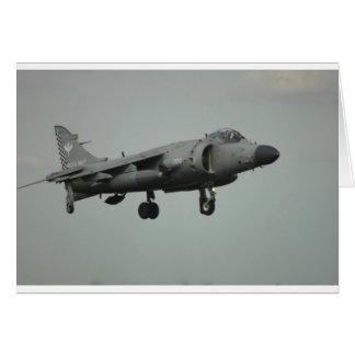 Harrier Card