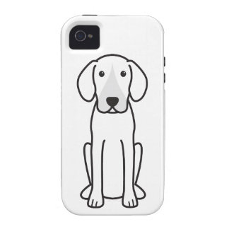 Harrier Dog Cartoon iPhone 4/4S Cases