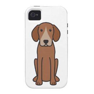 Harrier Dog Cartoon Case-Mate iPhone 4 Covers