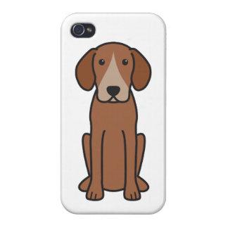 Harrier Dog Cartoon iPhone 4 Case