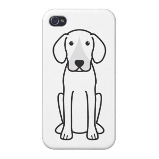 Harrier Dog Cartoon iPhone 4 Covers