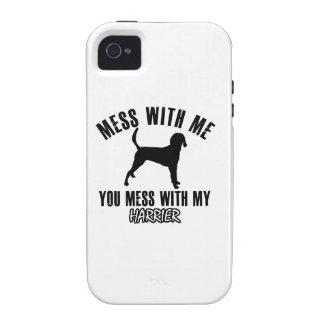 harrier dog designs iPhone 4 case