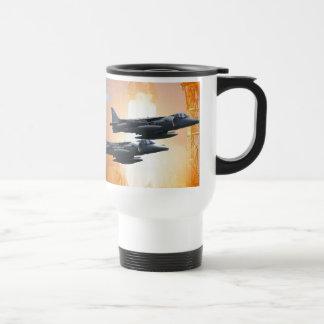 Harrier Formation 15 Oz Stainless Steel Travel Mug