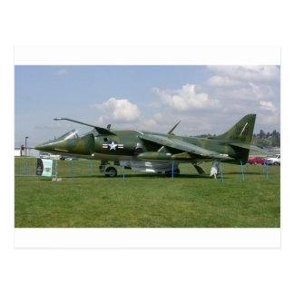 Harrier Jet Postcard