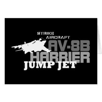 Harrier Jump Jet - Card