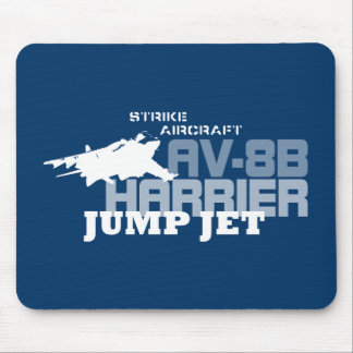 Harrier Jump Jet - Mouse Pad