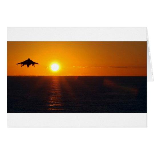"""HARRIER SUNRISE"" CARD"