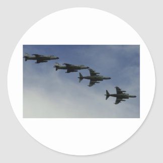 Harriers Classic Round Sticker