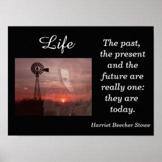 Harriet Beecher Stowe - art print - quote