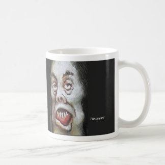 Harriet horrible que silba tazas de café