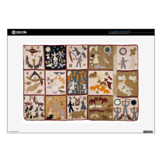Harriet Powers - Pictoral Quilt 1898 Decals For Laptops