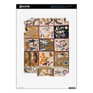 Harriet Powers - Pictoral Quilt 1898 Skin For iPad 3