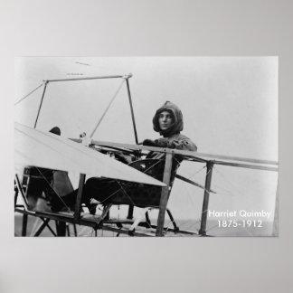 "Harriet Quimby poster 13""x19"""
