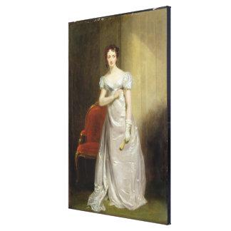 Harriet Smithson (1800-54) as Miss Dorillon, c.182 Canvas Print