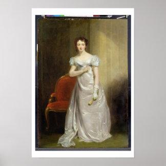 Harriet Smithson (1800-54) as Miss Dorillon, c.182 Poster