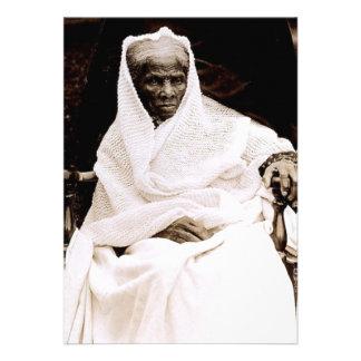 Harriet Tubman Invitación Personalizada
