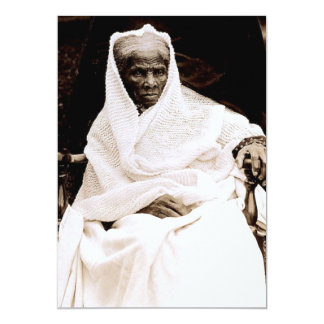 Harriet Tubman Personalized Invitation