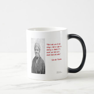 "Harriet Tubman ""Liberty Or Death"" Quote Gifts Magic Mug"