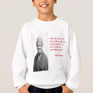 "Harriet Tubman ""Liberty Or Death"" Quote Gifts Sweatshirt"