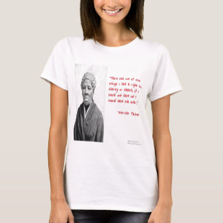 "Harriet Tubman ""Liberty Or Death"" Quote Gifts T-Shirt"