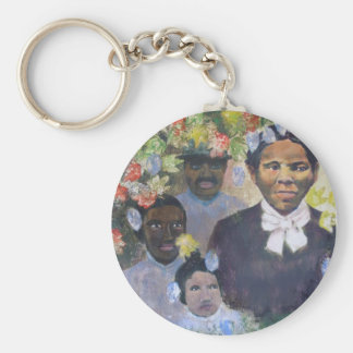 Harriet Tubman Llavero Redondo Tipo Pin