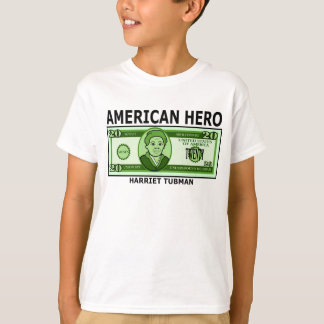 Harriet Tubman on Twenty Dollar Bill T-Shirt