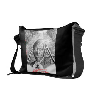 Harriet Tubman & Steady Lord Messenger Bag Purse