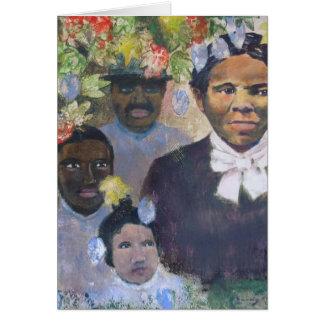 Harriet Tubman Tarjeton