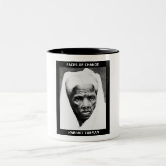 HARRIET TUBMAN Two-Tone COFFEE MUG