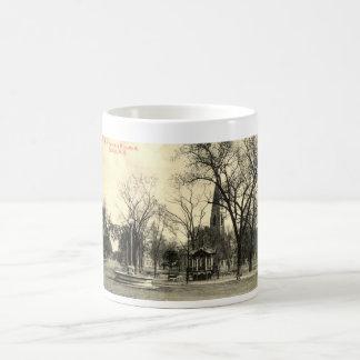 Harriman Monument, Goshen NY 1916 Vintage Coffee Mug