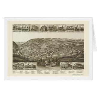 Harriman, TN Panoramic Map - 1892 Card