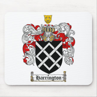 HARRINGTON FAMILY CREST -  HARRINGTON COAT OF ARMS MOUSE PAD