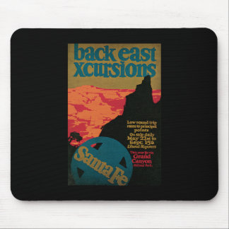 Harris Back East Xcursions Grand Canyon Mouse Pad