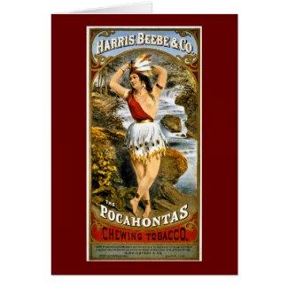 Harris, Beebe, & Co. - Pocahontas Chewing Tobacco card
