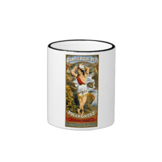 Harris, Beebe, & Co. -  Pocahontas Chewing Tobacco Ringer Mug