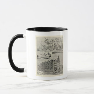 Harris Bldg, New London, Conn Mug