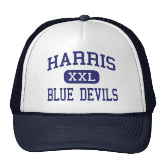 Harris Blue Devils Middle Spruce Pine Mesh Hat