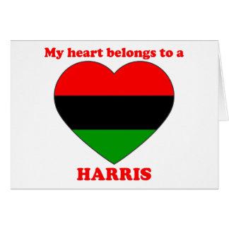 Harris Cards
