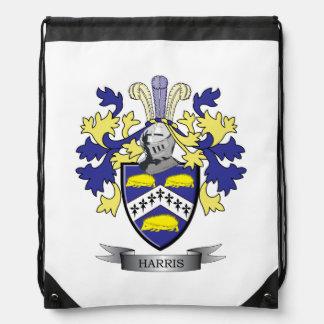 Harris Coat of Arms Drawstring Backpack
