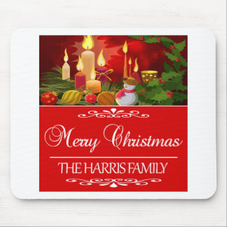 HARRIS FAMILY CHRISTMAS DESIGNS MOUSE PAD
