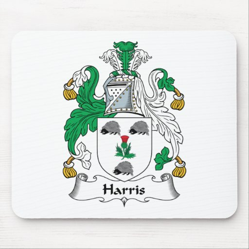 Harris Family Crest Mouse Pad