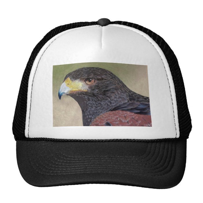 Harris Hawk colored pencils Trucker Hat