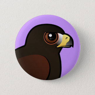 Harris Hawk Pinback Button