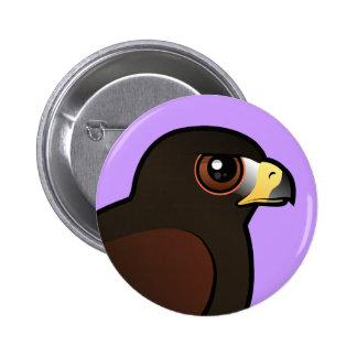 Harris Hawk Pinback Button